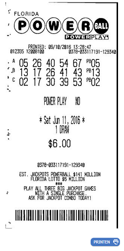 powerball ticket online